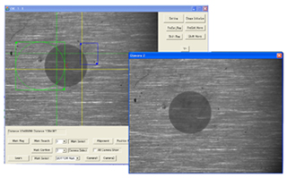Alignment software with 2 cameras